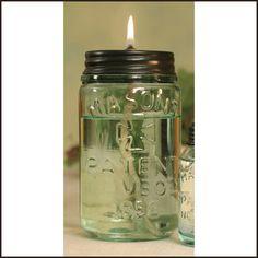 DIY oil lanterns