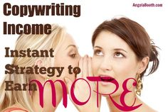 Want additional copywriting income? Use this simple strategy to double and triple your income, while writing less. It's a vital strategy now: http://www.fabfreelancewriting.com/blog/2014/05/26/copywriting-income-instant-strategy-earn/