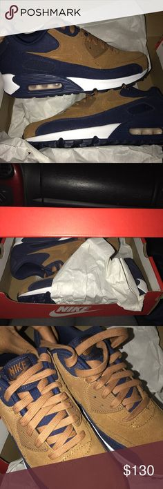 NIKE AIR MAX brand new Selling these Size 8 (men) size 10 (women) AIR MAX. Brand new shoes never worn. Suede material Nike Shoes Sneakers