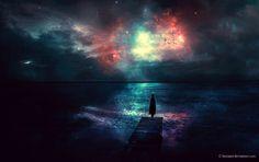 Wallpaper Alert: Sky full of Stars by BaxiaArt.deviantart.com on @deviantART