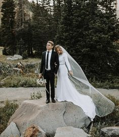 modest wedding dress with long sleeves from alta moda. photo by Ashley Rae