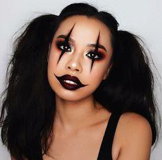 Halloween Makeup For Kids, Halloween Costumes Women Scary, Amazing Halloween Makeup, Hallowen Costume, Pretty Halloween, Halloween Kostüm, Group Halloween, Halloween Season, Couple Halloween