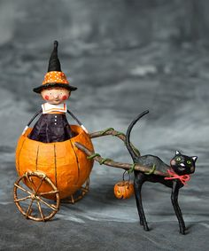 Piper's Pumpkin Ride from TheHolidayBarn.com