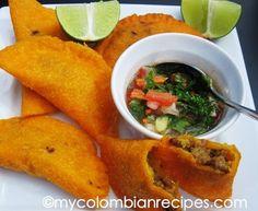 Receta de Empanadas Colombianas en español