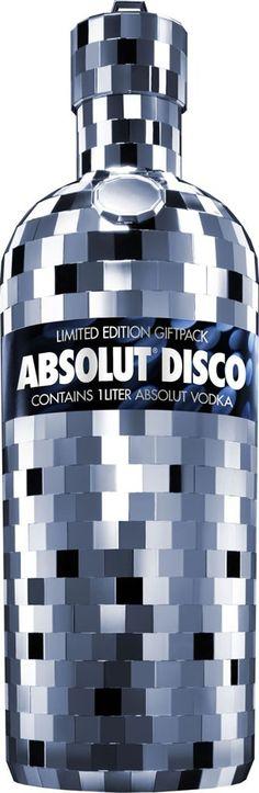 Absolut Vodka's Disco Edition Bottle
