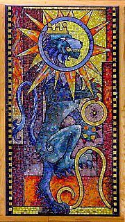 LEO, by Sir George Trevelyan: Attingham Park, The Attingham Zodiac.