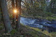 Maisema Vekaruskoski, Joensuu. Landscape in Vekaruskoksi, Joensuu. Photo Ismo Pekkarinen #finland #maisema #landscape #luonto #vekaruskoski #kotajoki #nature