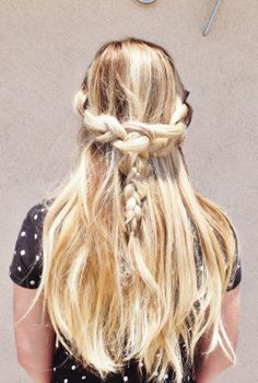 3 gorgeous summer braids for every girl.