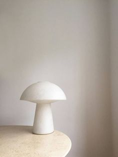 Table lamp from German Glashütte Limburg. off white opaline glass, with air bubble patterns. One light source. End 1960 start Hight: ca 50 cm Diameter: ca 42 cm Condtion: Mint Shipping: Processing time: Days Delivery time to U.S: Approx 2 Days Bedside Table Lamps, Bedroom Lamps, Wall Lamps, Lamp Design, Lighting Design, Home Modern, Mid-century Modern, Vintage Store, Vintage Items
