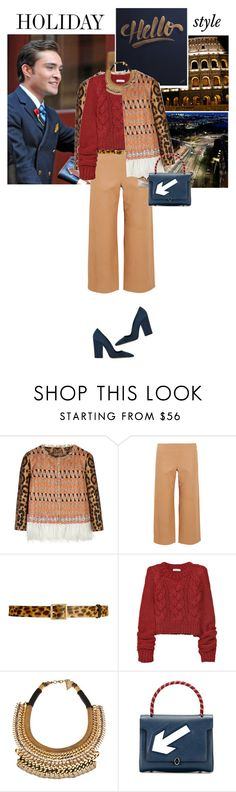 """""""Made a wrong turn once or twice Dug my way out, blood and fire Bad decisions, that's alright Welcome to my silly life ... //pink"""" by hil4ry ❤ liked on Polyvore featuring moda, Giambattista Valli, Chloé, Alice + Olivia, ADAM, Lizzie Fortunato Jewels, Anya Hindmarch y Dee Keller"""