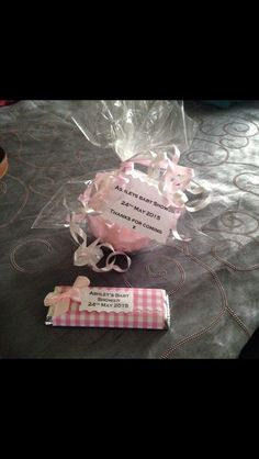 Bath Bomb baby shower Favors Kitkat Favours