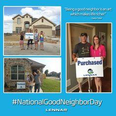 Happy National Good Neighbor Day!