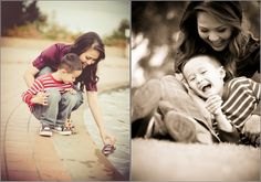 Beautiful Mother & Son Photo Shoot