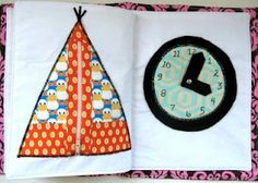 Might make one of these for Oliver and the new baby with my fabric scraps!