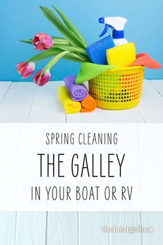 Every galley needs a deep cleaning sometimes. Here's how to do it to keep yours working well, sparkling, and bug-free. Deep Cleaning, Spring Cleaning, Living On A Boat, Love Boat, Free