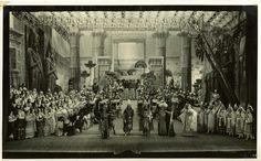 Verdi 200 | Opere | Aida, Teatro Municipale di Piacenza, 1934