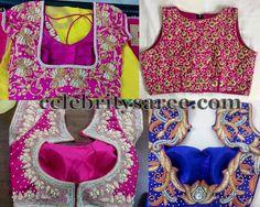 Colorful Blouse Designs for Silk Saris | Saree Blouse Patterns