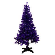 Paperchase purple Christmas tree