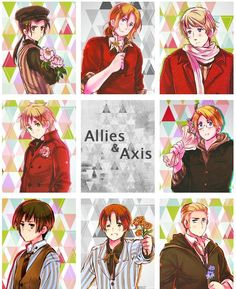 Axis and Allies-Hetalia