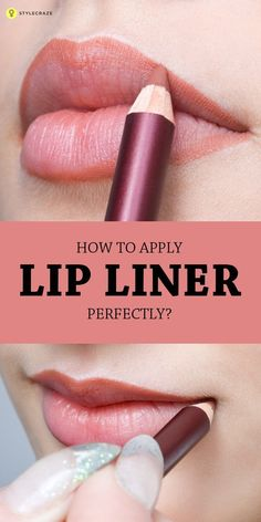 Not many of us like using lip liners these days, but if you wish to get the right look on your lips, you need to use a #lipliner and use it in the right ...