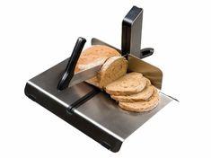 Buffet-/Brotschneider, HOTELSLICER ideal für Buffets, aus Edelstahl, patentiertes Schleifsystem, ergonomischer Handgriff Buffets, Ham, Pizza, Snacks, Stainless Steel, Buffet, Hams, Sideboard, Treats