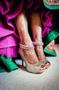 Tatouage mariage henné