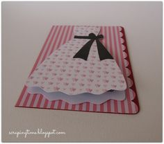 Tarjeta de embarazo-bebé... Pregnancy card, shaker pregnant card, baby card, mum to be card