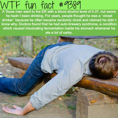 Auto-Brewery Syndrome – WTF fun facts – News and Entertainment Creepy Facts, Funny Facts, Funny Quotes, Funny Memes, Jokes, Random Facts, Wtf Fun Facts Funny, Trivia Facts, Strange Facts