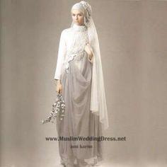 islamic wedding gown