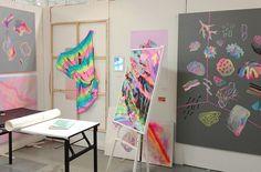 random art school flickr, love the colours!