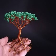 Another little tree. Handmade Decorations, Handmade Crafts, Wire Trees, Gift Guide, Goodies, Boutique, Beads, Business, Floral