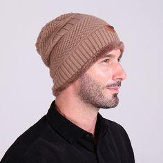 Punctual Fashion Men Bonnet Winter Thin Skullies Beanies Knitted Woolen For Mens Cap Beanie Gorros Warm Casual Outdoor Climbing Caps Boy's Accessories