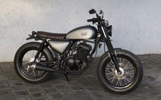 Photo Gallery | Island Motorcycles Suzuki GSX custom motorcycle Bali #classic motorcycle #cafe racer #brat style