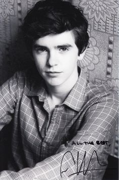 Freddie Highmore  always Knew he was greatness  from Finding Neverland to August Rush  LOVE Freddie