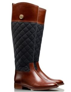 I swear I will die for these boots! I have to have them. Fall Trends: Tory Burch Boots