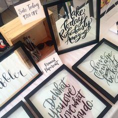 Head out to BGC Art Mart this weekend! Just for today and tomorrow get P200 off our framed calligraphy papercut!  by inkscribbler