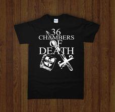 WU-TANG CLAN 36 Chambers Shirt