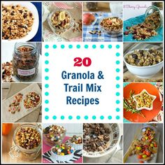 20 Granola and Trail Mix Recipes | Simply Southern Baking