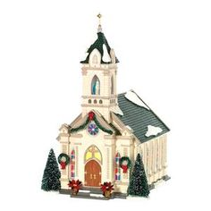 Our Lady Of Grace Church | Department 56 Lighted Building
