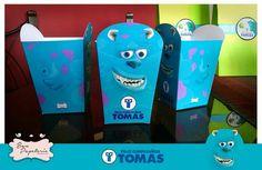 Fiesta Monsters Inc - cajitas para pop corn