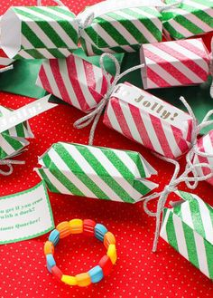 Get the Christmas party started with these fun party crackers!