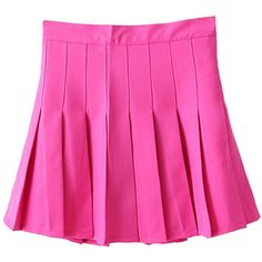 Choies Rose Red Pleated Mini Skirt ($14) ❤ liked on Polyvore featuring skirts, mini skirts, bottoms, pink, pink pleated skirt, pleated miniskirt, rose skirt, pleated skirts and short mini skirts