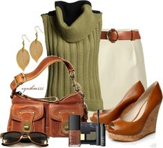 """""""Cinnamon and Sage"""" by cynthia335 on Polyvore"""
