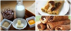 Rollitos de Nutella muy sencillos Nutella, Death By Chocolate, French Toast, Bakery, Breakfast, Recipes, Food, Ideas, Chocolate Desserts