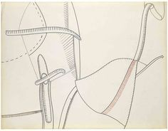 Eva Hesse - No title, 1965 Ink and colored ink on paper 49.8 x 64.8 cm / 19 5/8 x 25 1/2 in