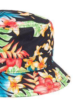 79c28fe7693 Reversible Black Lilium Bucket Hat