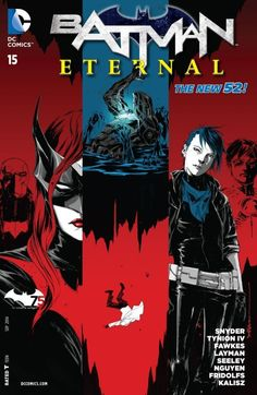 Batman Eternal (2014-) #15 Who is behind the hell beneath Arkham Asylum? Can Batwing and Jim Corrigan hope to stop it before it breaks out and consumes all of Gotham City?