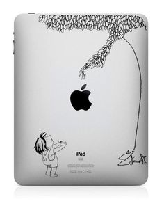 Apple Tree  iPad Decal iPad Stickers iPad iPad 2 Decals by ttpony, $8.99