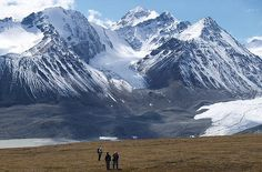 Mount Khuiten, 14,347ft (4,373m), is Mongolia's highest peak and one of the least accessible mountains on earth. (Photo: bjcolclough, via Flickr)