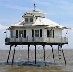 Middle Bay #Lighthouse Alabama Lighthouse Association #fairhope
